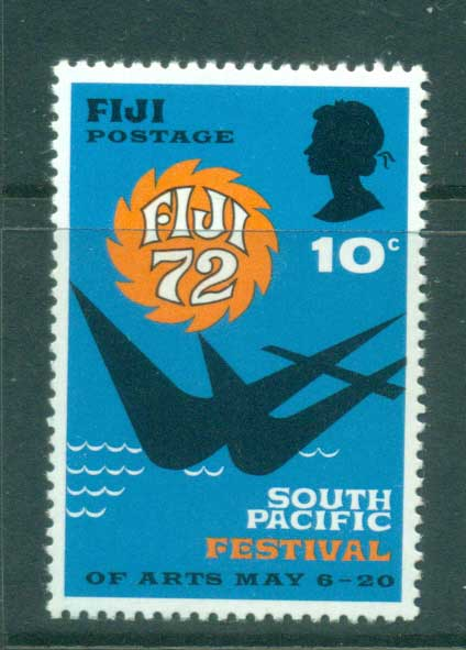 Fiji 1972 South Pacific Festival MUH lot54317