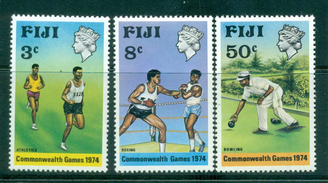 Fiji 1973 Commonwealth Games MUH lot54325