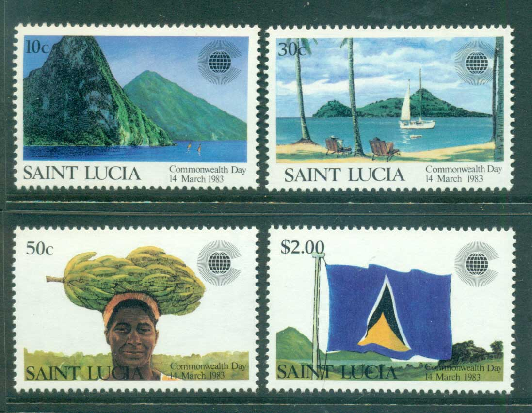 St Lucia 1983 Commonwealth Day MUH lot54637