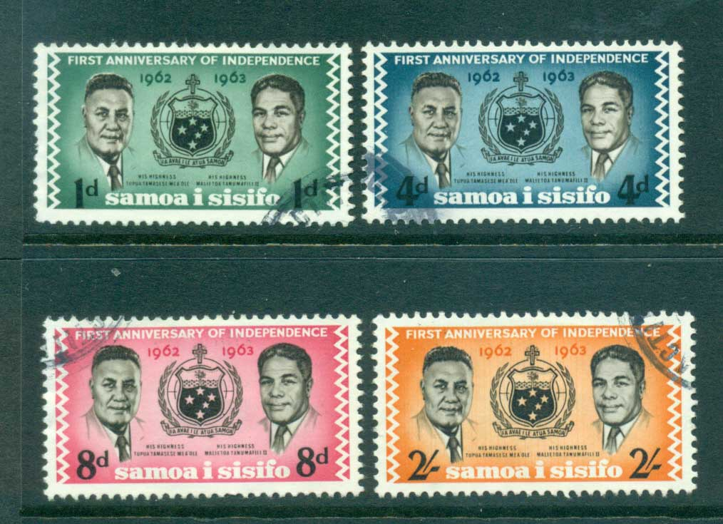 Samoa 1963 Independence Anniv FU lot54690