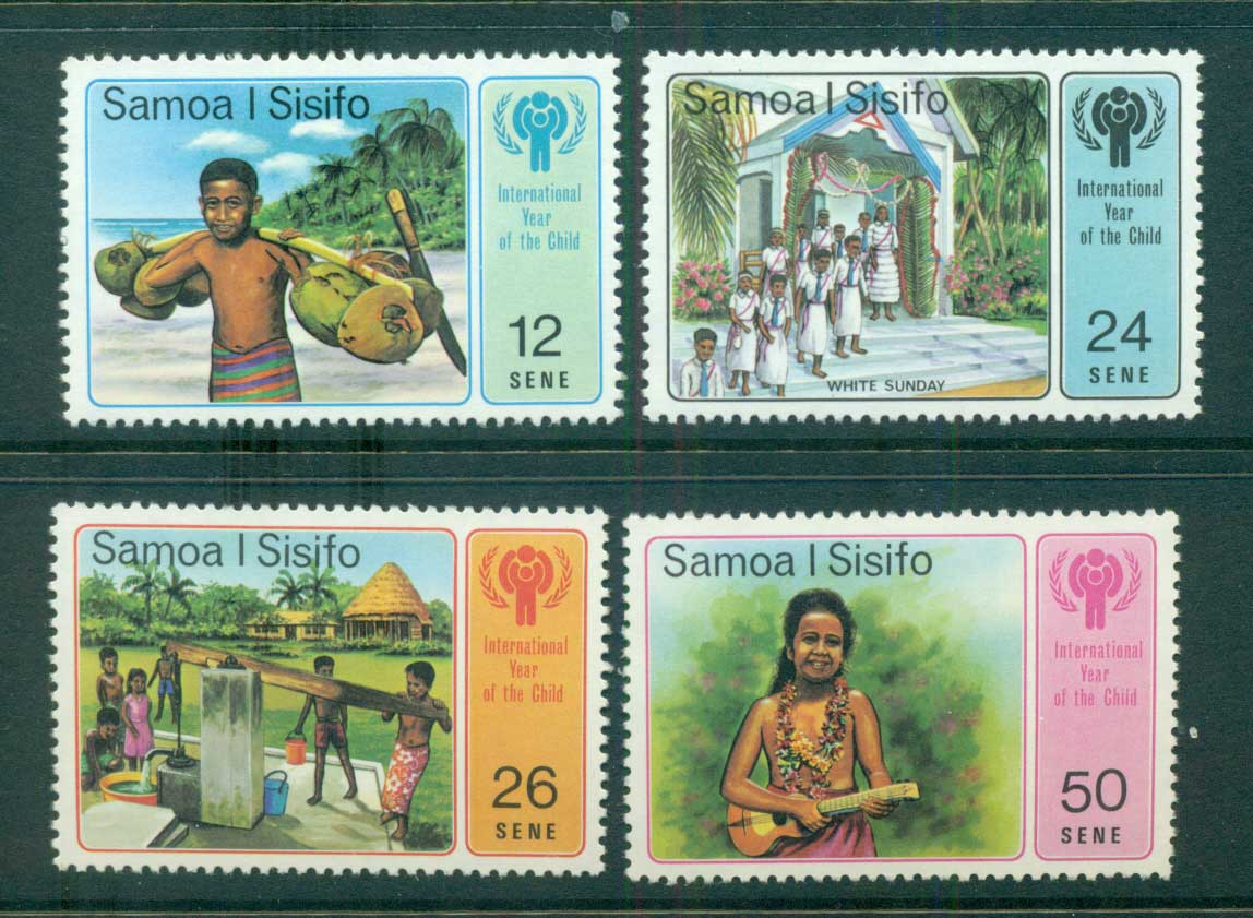 Samoa 1979 IYC Intl. Year of the Child MUH lot54882