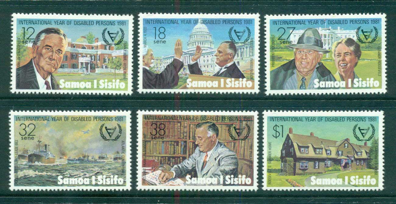 Samoa 1981 Intl. year of Disabled MUH lot54914