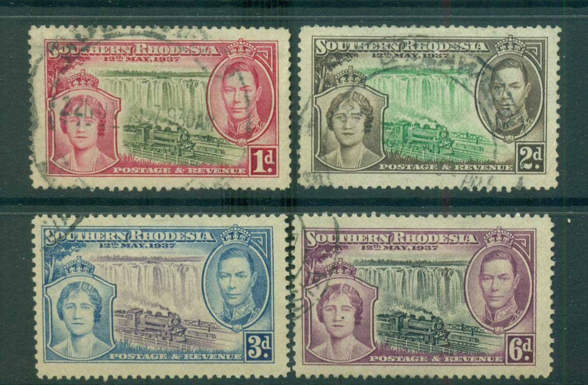 Southern Rhodesia 1937 Coronation FU lot54956
