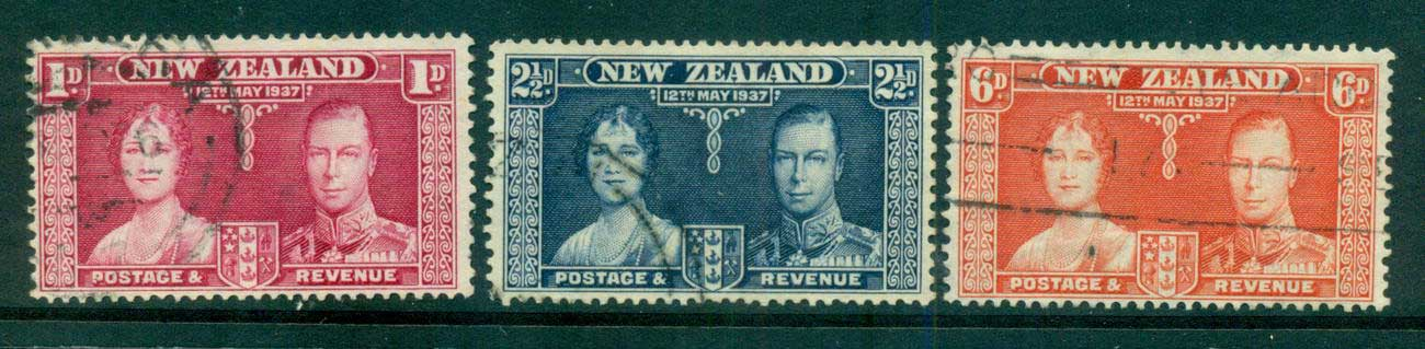 New Zealand 1937 Coronation FU lot55016