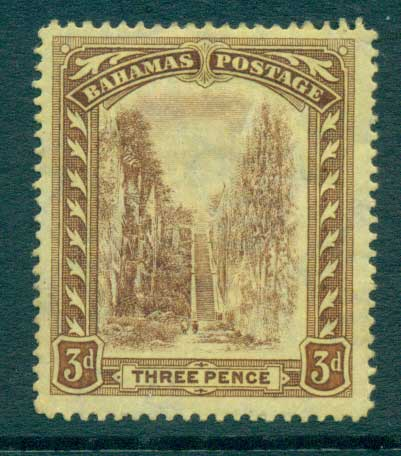 Bahamas 1917 3d Queens Staircase MLH Lot55173