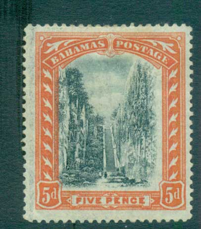 Bahamas 1901 5d Queens Staircase MLH Lot55175
