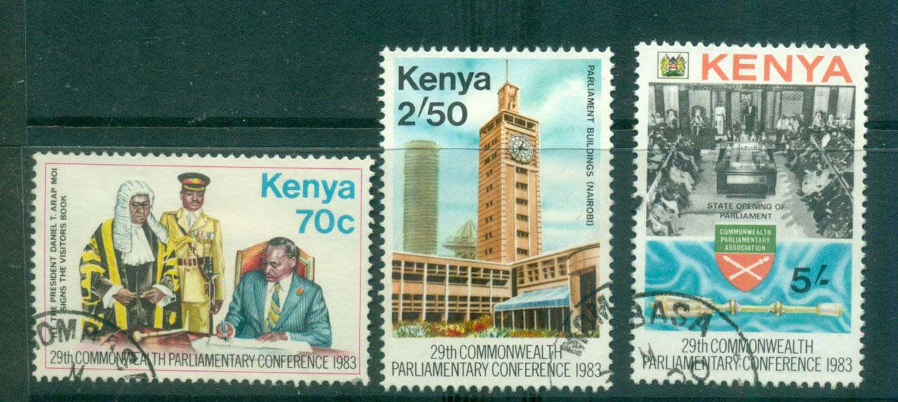 Kenya 1983 Commonwealth parliamentary Conference FU Lot55357