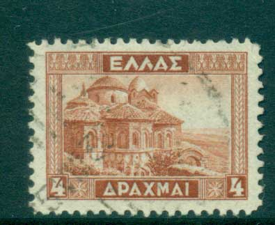 Greece 1935 Church of Pantanassa Mistra FU lot56153