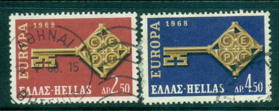 Greece 1968 Europa FU lot56212
