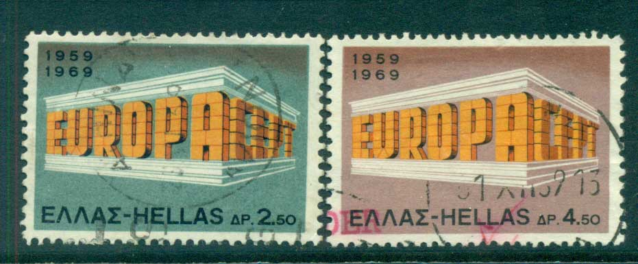 Greece 1969 Europa FU lot56217