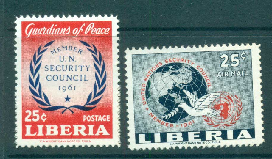 Liberia 1961 UN Security Council MLH lot56717