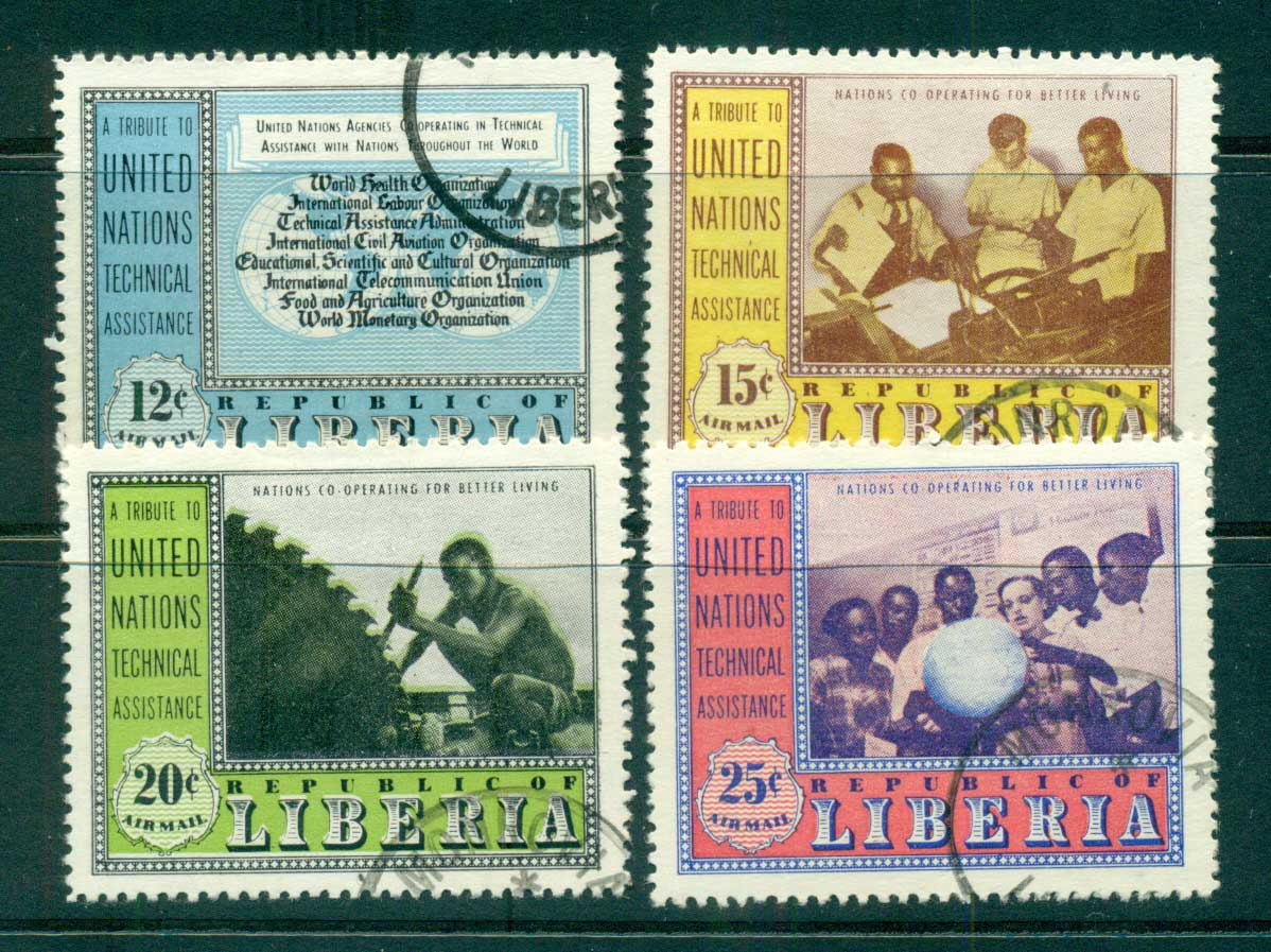 Liberia 1954 UN technical Assistance CTO Lot56817