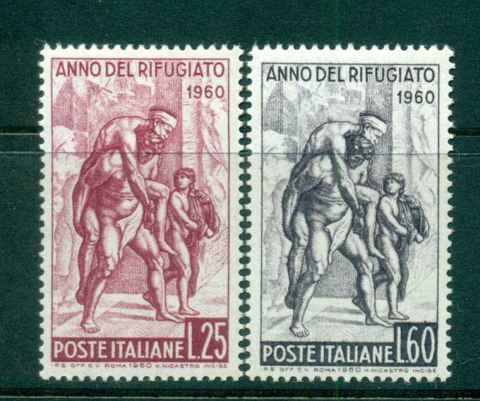 Italy 1960 World Refugee year MUH lot57161