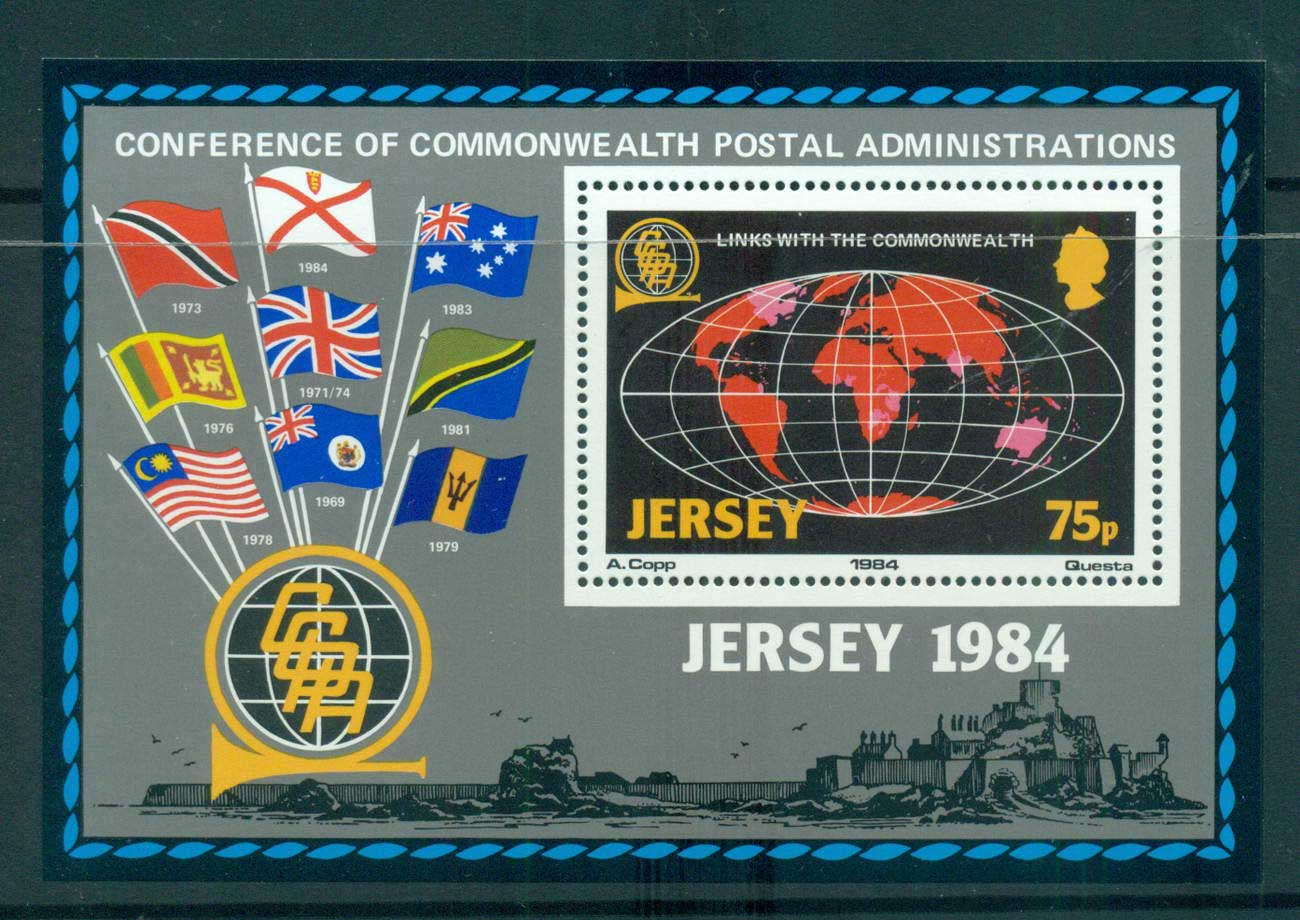 Jersey 1984 Links with the Commonwealth MS MUH lot57371