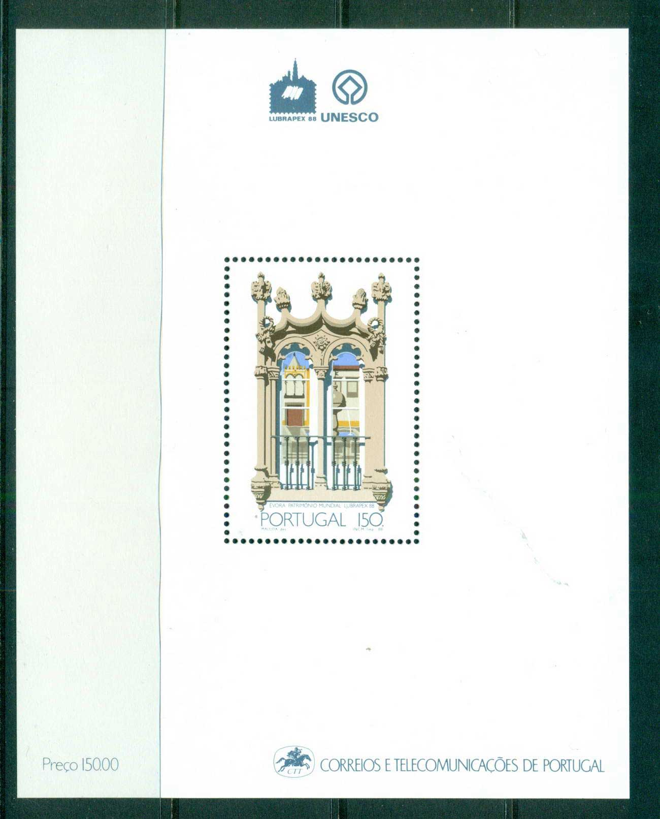 Portugal 1988 National heritage MS MUH lot57507