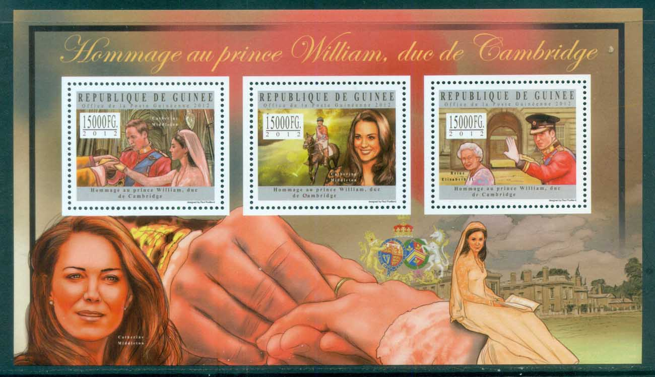 Guinee 2011 Famous People, Royalty, Diana MS MUH GU12502a