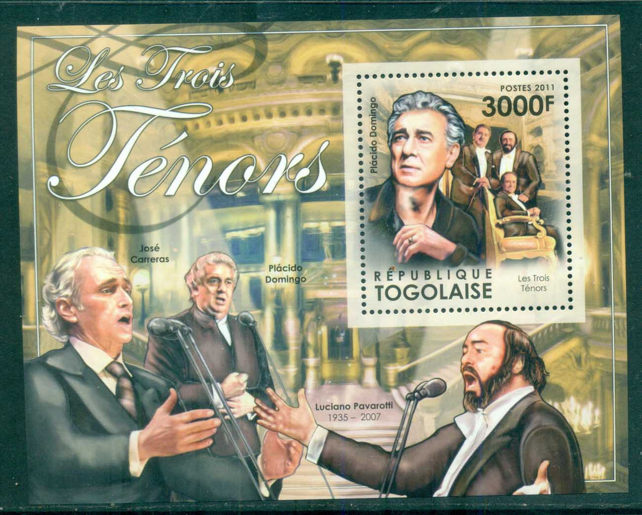 Togo 2011 Famous People, Music, Classical, Joseph Haydn MS MUH TG007