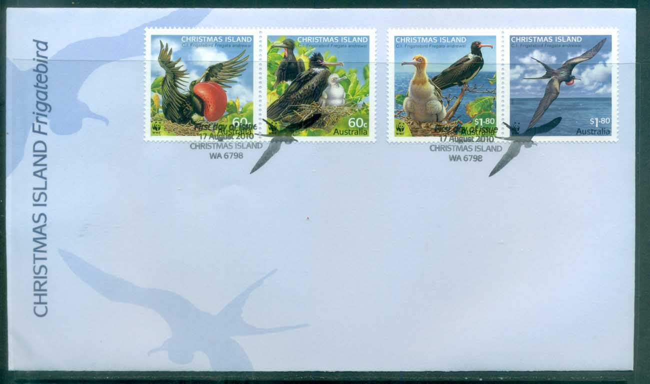 Christmas Is 2010 Frigate Bird FDC lot76026