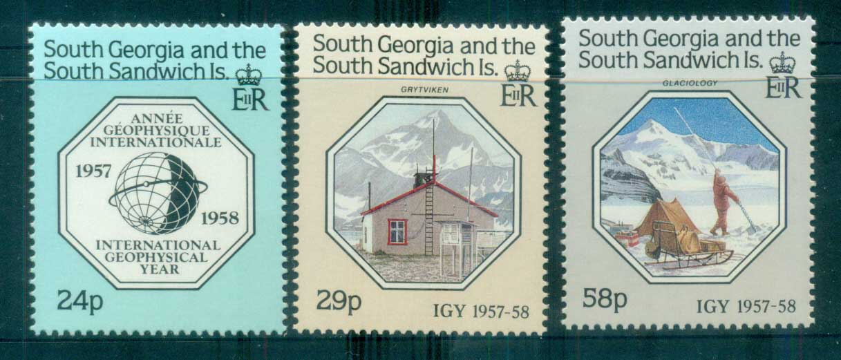 South Georgia 1987 Intl. Geophysical Year MUH lot76439