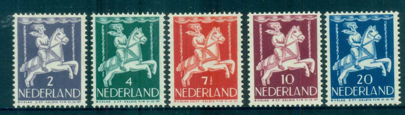 Netherlands 1946 Charity, Child Welfare (tones) MLH lot76484