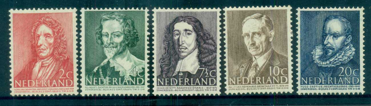 Netherlands 1947 Charity, Social & Cultural purposes MLH lot76485