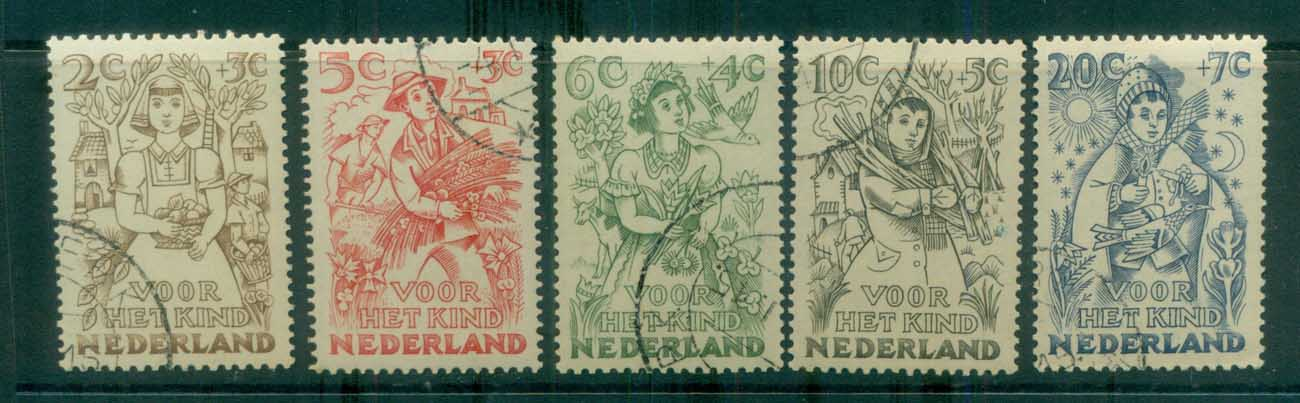 Netherlands 1949 Charity, Child Welfare CTO lot76491