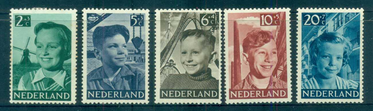 Netherlands 1951 Charity, Child Welfare MH lot76493