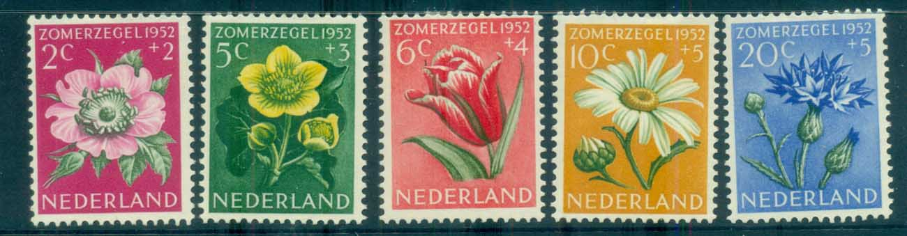 Netherlands 1952 Charity, Cultural, Medical & Social purposes MH lot76495