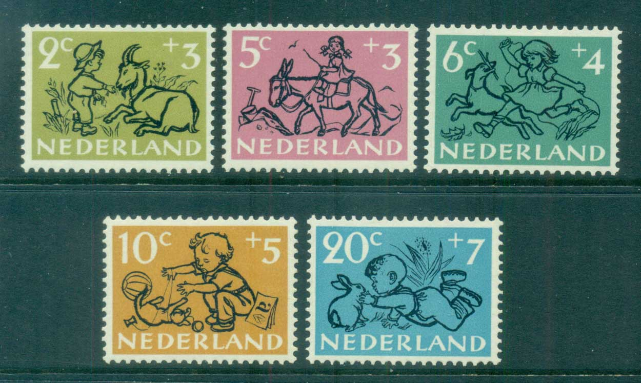 Netherlands 1952 Charity, Child Welfare MLH lot76496