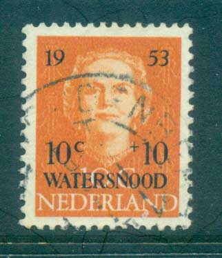 Netherlands 1953 Charity, Opt Flood Relief FU lot76497