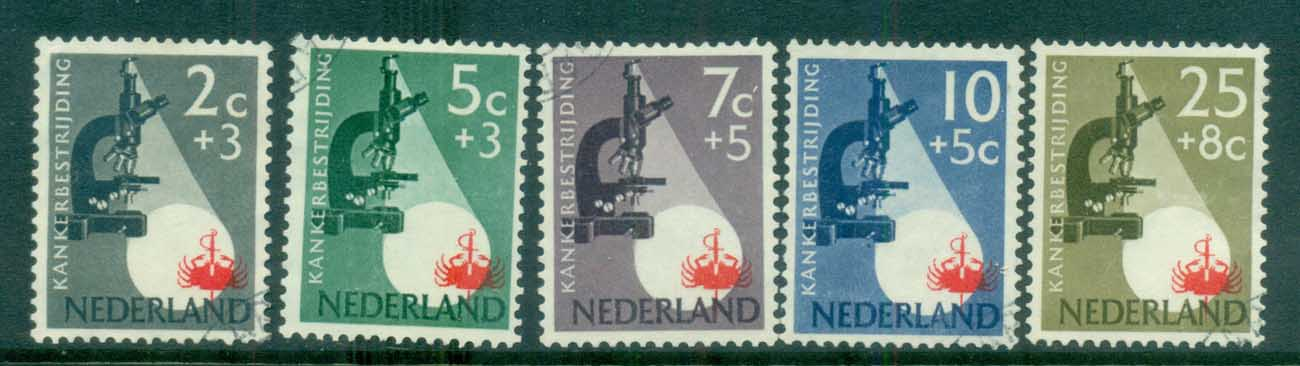 Netherlands 1955 Charity, Cancer Research MH lot76505