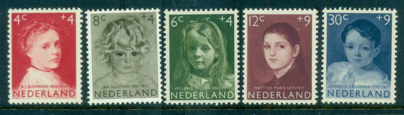 Netherlands 1957 Charity, Child Welfare MLH lot76512