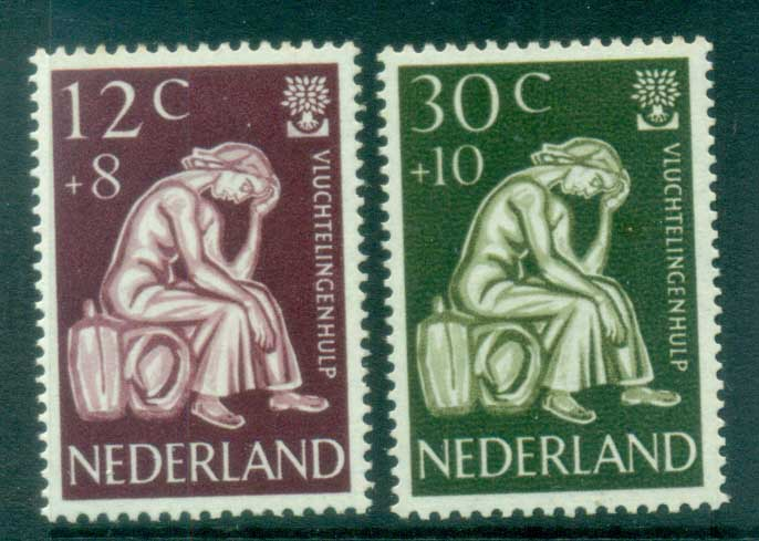 Netherlands 1960 Charity, World Refugee Year MLH lot76516