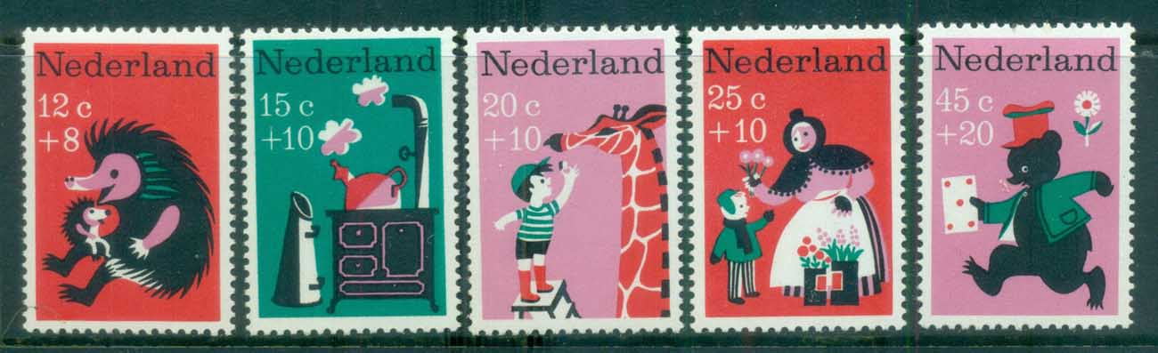 Netherlands 1967 Charity, Child Welfare, Nursery Rhymes MUH lot76546