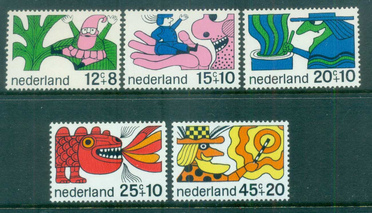 Netherlands 1968 Charity, Child Welfare, Fairy Tales MUH lot76550