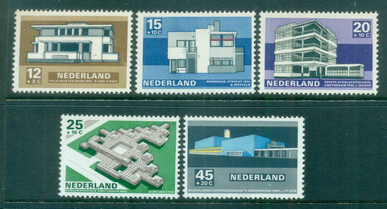 Netherlands 1969 Charity, Social & Cultural purposes, Architecture MLH lot76552