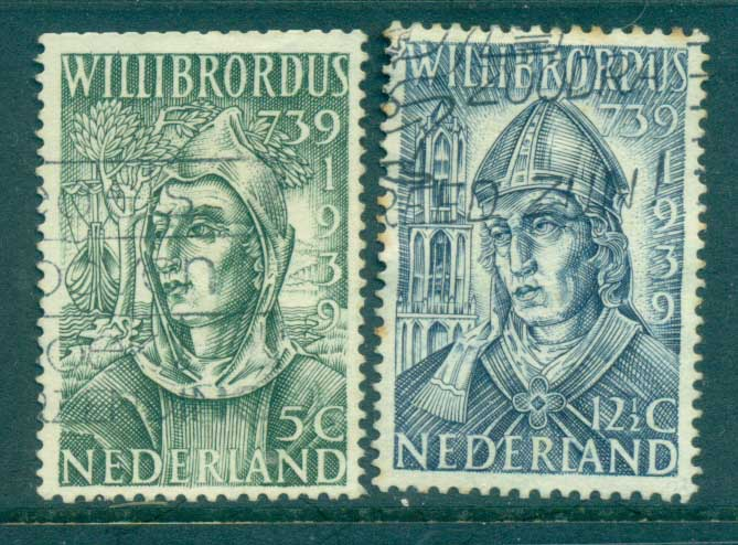 Netherlands 1939 St Willibrord (5c clipped perfs top) FU lot76633