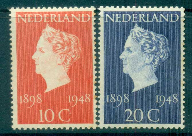 Netherlands 1948 Queen Wilhemina 50th Anniv. MLH lot76637