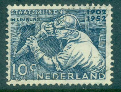 Netherlands 1952 Mining & Chemical Industries FU lot76642