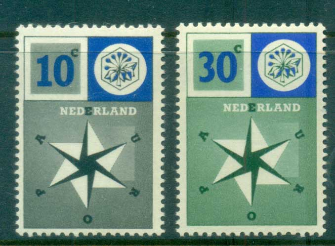 Netherlands 1957 Uniter Europe MLH lot76650