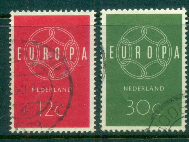 Netherlands 1959 Europa FU lot76654