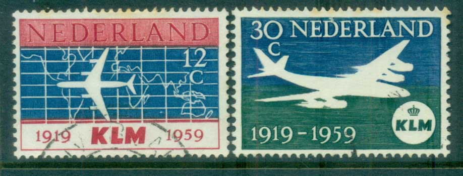 Netherlands 1959 KLM Airlines FU lot76655
