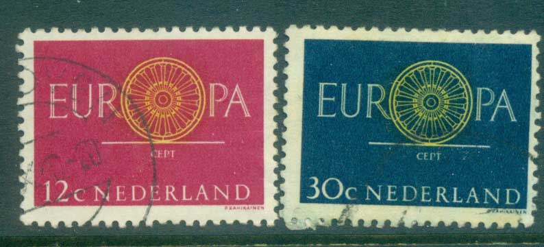 Netherlands 1960 Europa FU lot76658