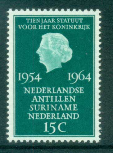 Netherlands 1964 Charter of the Kingdom MUH lot76681