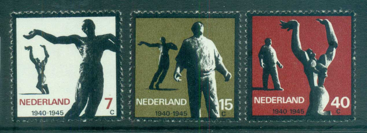 Netherlands 1965 WWII Resistance Movement MUH lot76682
