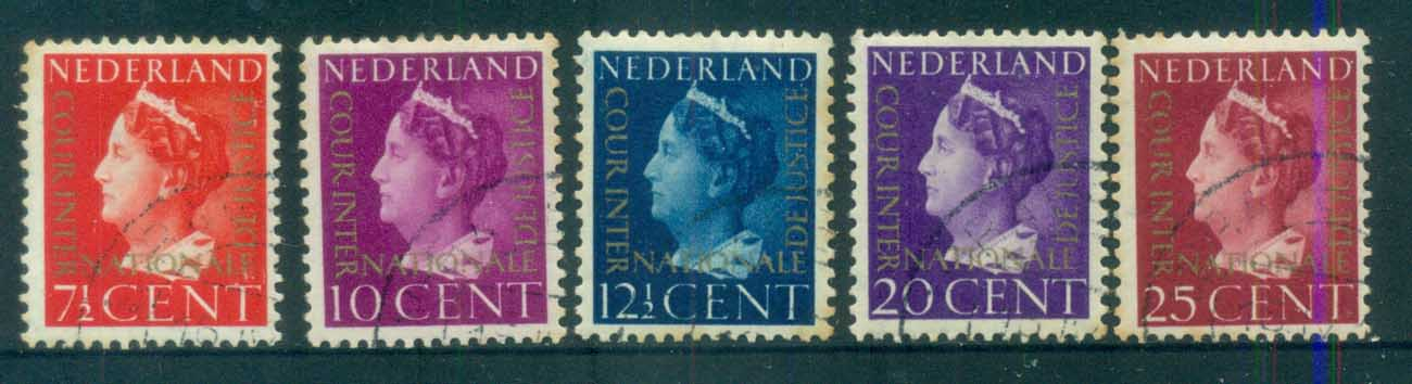 Netherlands 1947 International Court of Justice (tones) FU lot76830
