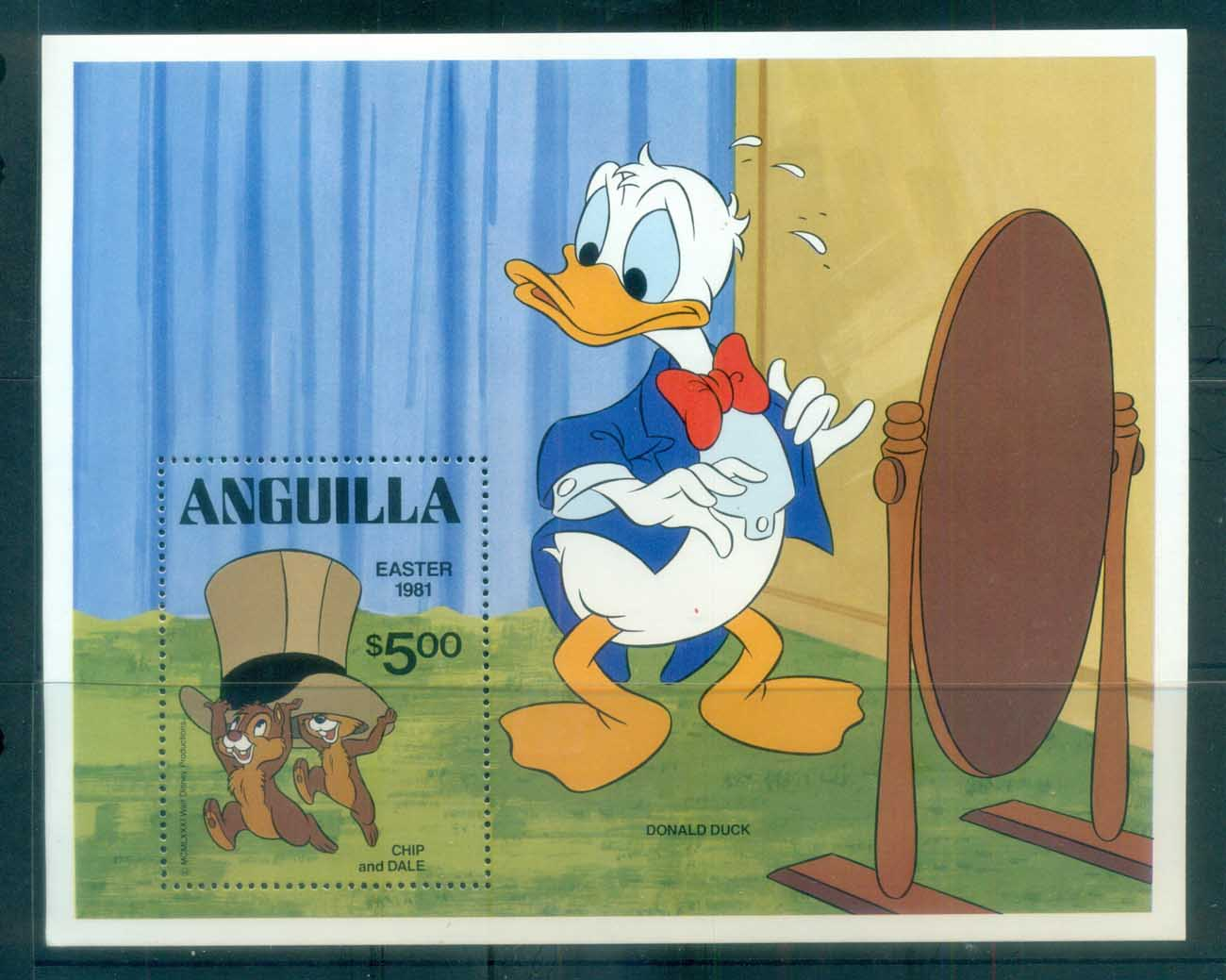Anguilla 1981 Disney, Easter MS MUH lot77469