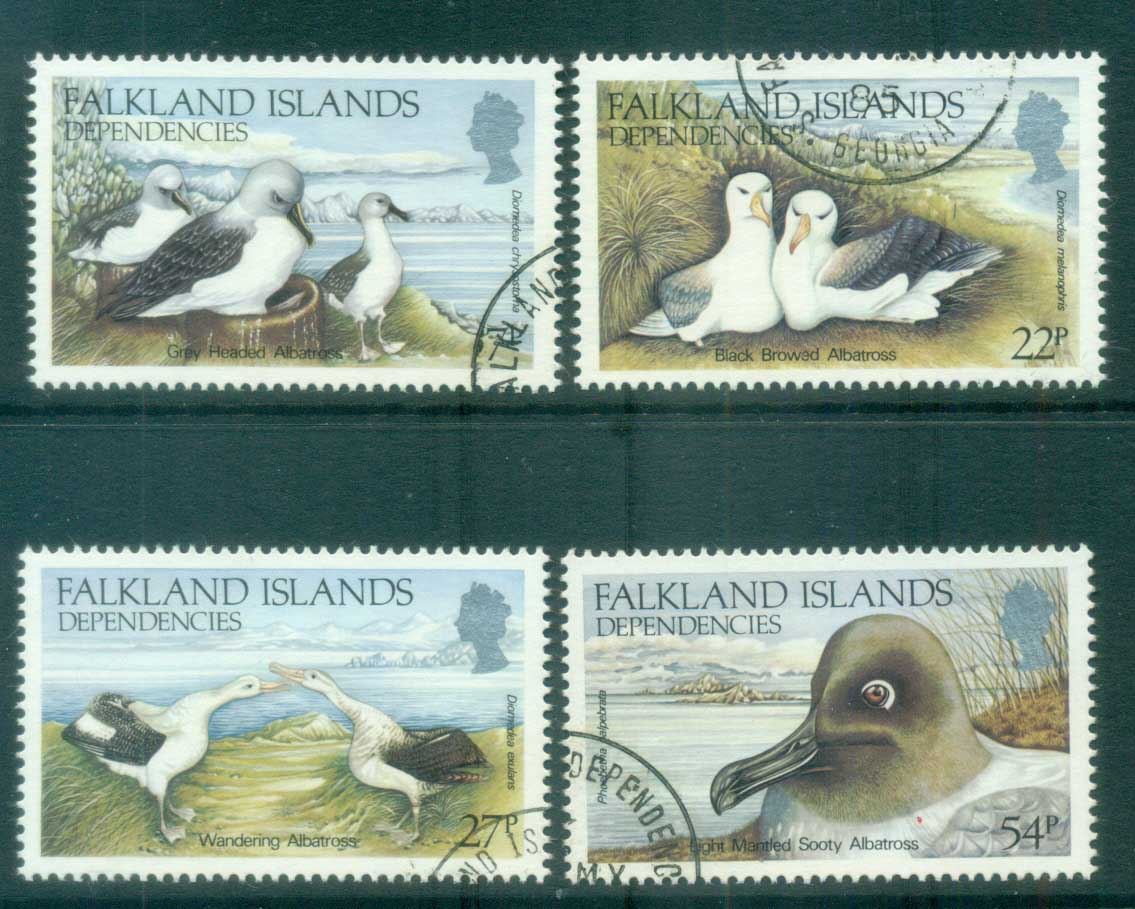 Falkland Is Deps 1985 Albatrosses FU lot77969