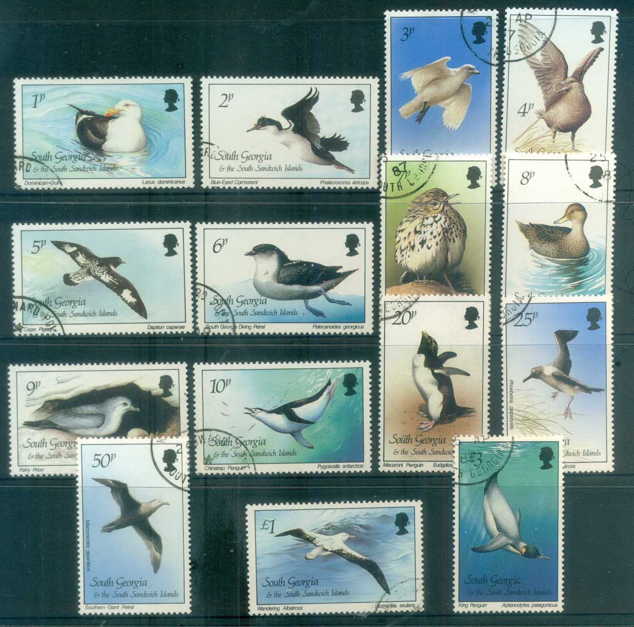 South Georgia 1987 Birds FU lot78001