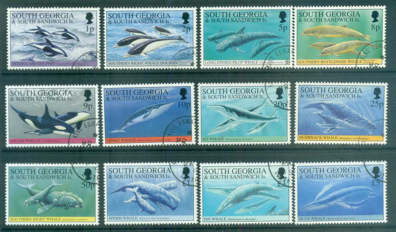 South Georgia 1994 Whales & Dolphins FU lot78015